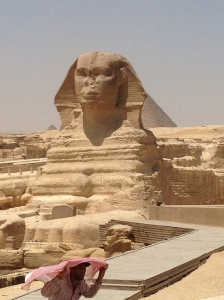 Great Sphinx of Giza. An incredible sight!