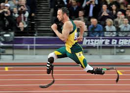 Oscar Pistorius at his best.