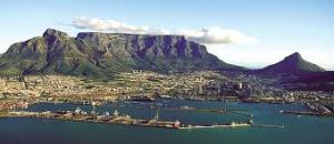 The beauty that is Cape Town. Table Mountain in the backgroud.